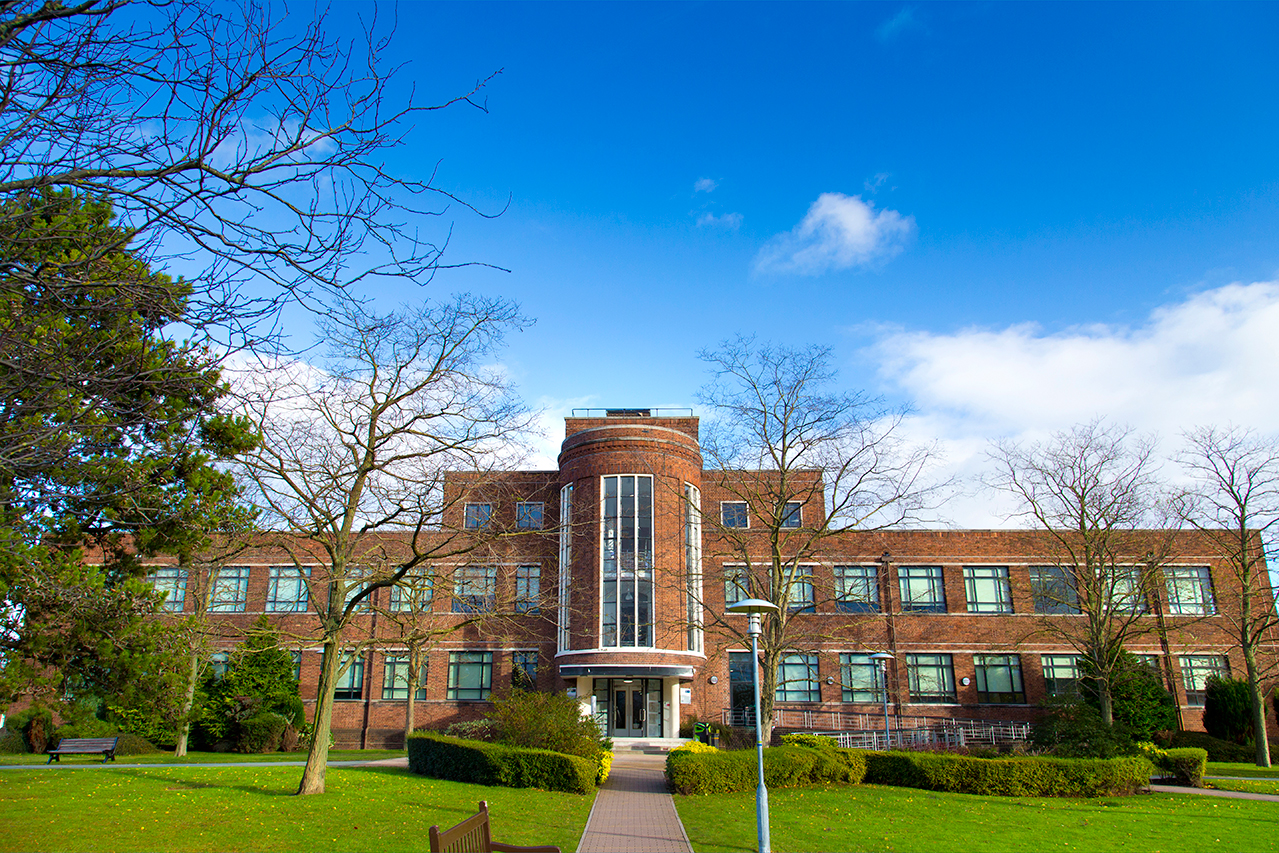 Photograph of the Sutton Building at Thornton Science Park